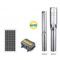 Durable Solar Water Pumping System , Solar Borehole Pump System High Efficiency Manufactures