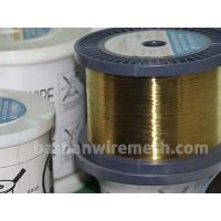 Bashan factory direct supply Cu63%,Zn37  Cu60%,Zn40%  0.01~0.30mm EDM brass wire for cutting Manufactures