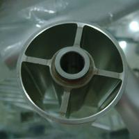 Extruded Aluminium Industrial Profile Buff Anodizing ISO9001 / ISO14001/ OHSAS 1800 Manufactures