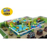 Colorful Soft Play Centre Equipment For Games European Standard Anti - Crack Manufactures