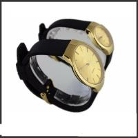 Silicon Band Couple Wrist Watches Set , Branded Pair Watches For Couples Manufactures