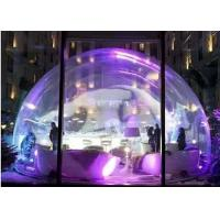 Beautiful Shape Inflatable Tent PVC Tarpaulin With Led Light For Party Manufactures