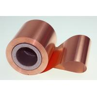10 Micron High Performance Copper Foil Double Matter Side 500 - 5000 Meter Length Manufactures