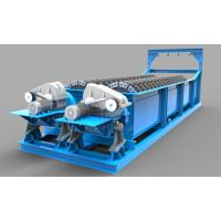 18° Flume Gradient Sand Washing Machine With Independent Hoisting Equipment Manufactures