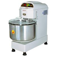 50L / 20KG Commercial Heads-Up Spiral Dough Mixer Two Mixing Speed Food Processing Equipments Manufactures