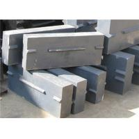 Wear Resistant Alloy Crusher Blow Bars For Iron Ore Crushing Machine Manufactures
