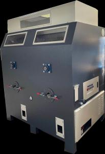 Double Outlet Toy 0.8MPa 3kw 80kg/H Fiber Filling Machine Manufactures