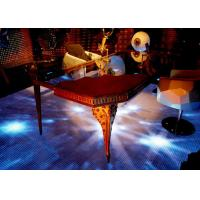 Lightweight Video Interactive Dance Floor For Tv Show / Stage / Wedding / Disco Manufactures
