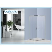 Quadrant Stainless Steel Shower Enclosures Double Sliding door Bathroom Shower Stall Manufactures