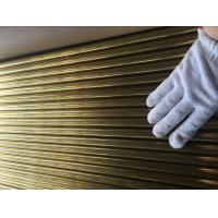 ASTM B111 C44300 , C68700 Brass Tube For Condenser And Cooling Applicaton Manufactures