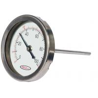 Indoor Mini round shape Bimetal Temperature measurement Sensor thermometer hygrometer Manufactures