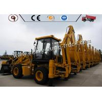 Professional 4WD Heavy Construction Equipment Mini Backhoe Loader WZ30-25 Manufactures