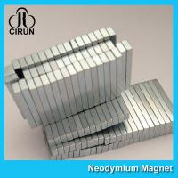 12000 Gauss Super Strong Neodymium Magnet Bar Shaped Anti - Corrosion Manufactures
