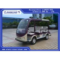 China 48V  Battery Powered 8 Seater Electric Car , Street Legal Electric Carts Comfortable on sale