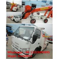 2017s new iSUZU 3tons road wrecker tow truck for sale, best price high quality ISUZU brand breakdown vehicle for sale Manufactures