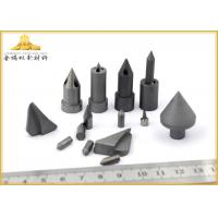 Anti - Skid Stud Tungsten Carbide Pins Silver Gray For Window Breaker Manufactures