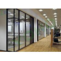Quality Double Glazing Aluminium Office Partition Easy Assembly Heat Insulation for sale
