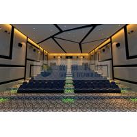 120 Persons 4D Motion Cinema with perfect fusion effect for amusement and entertainment park Manufactures
