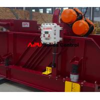 Oil and gas drilling fluid process shale shaker at Aipu solids control Manufactures