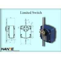 Blue Electric Wire Rope Hoist Limited Switch Plastic Wheel Swing Arm Rotary Manufactures