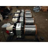 Wire Take Up Cable Winch Puller Stringing Machine 20KN Pulling Force Manufactures