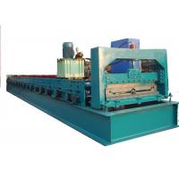 Quality High Speed Step Tile Roll Forming Machine / Tiles Making Machine With 19 Rollers for sale