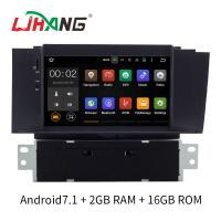 Android 7.1 Citroen Car Stereo DVD Player With FM AM RDS DAB MP3 MP5 Manufactures