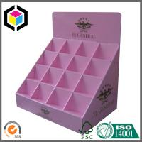 Elegant Custom Color Printing Display Box; Cosmetics Product Corrugated Display Box Manufactures