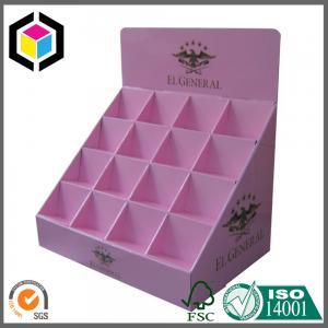 Elegant Custom Color Printing Display Box; Cosmetics Product Corrugated Display Box Manufactures