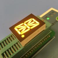 Super Amber LED Sixteen Segment Display 0.8 Inch For Automation Control Manufactures