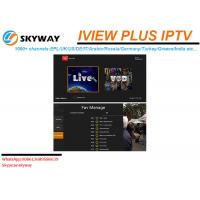 Hot Selling HD LIVE IPTV including Arabic UK Russian Greece Channels Manufactures