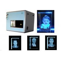 50DB Sound Level 3D Laser Engraving System 1 Galvo X / Y / Z Motion Controlled Manufactures