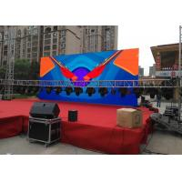 Outdoor HD  Stage LED Display  Ultra Thin Video Signs Eco Friendly  Screens Manufactures