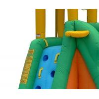 Quality Kids PVC Giant Inflatable Water Slide With Swimming Pool SGS Certification for sale