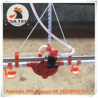 Buy cheap Poultry & Livestock Farm Hot Galvanized Automatic Broiler Chicken Floor Raising System with Nipple Drinking System from wholesalers