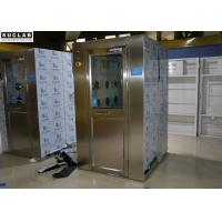China Clean Room Air Shower Room Double Person With Interlock And Automatic Open on sale