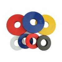 Steel Fractional Plates Weightlifting , Barbell Weight Plates Various Color Manufactures