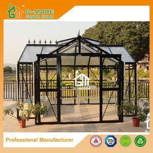 China G-MORE Extra Heavy Duty Classic English Style Orangery Aluminium Glass Greenhouse on sale