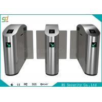 Quality Railway Retractable Security Speed Gates , Bidirectional Stainless Steel for sale