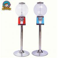 Gourmet Candy Shop Gumball Vending Machine With Stand Zinc Alloy Coin Manufactures