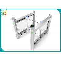 Luxury High Speed Supermarket Swing Gate , Rfid Card Turnstile Security Systems Manufactures
