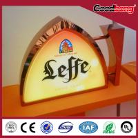 arcylic 3d led waterproof anti-wind lighting advertising light box Manufactures