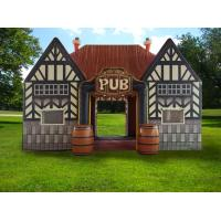 Quality Outdoor durable inflatable serving bar, inflatable pub tent, inflatable irish pub tent for sale for sale