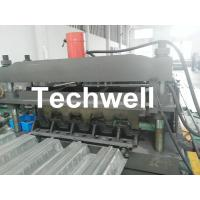 Steel Structure Floor Deck Cold Roll Forming Machine For Galvanized Steel Sheet Manufactures