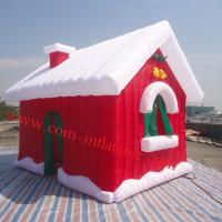 Inflatalbe christmas products, inflatable santa house ten, inflatable christmas house tent Manufactures