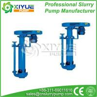 China Anti-wear dyeing and textile industry vertical slurry pump on sale