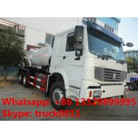 HOWO LHD 16cbm sewage suction truck for sale, HOWO vacuum truck for sale Manufactures