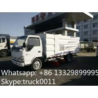CLW brand best price 4*2 LHD street sweeper truck for sale,Factory direct sale stainless steel road cleaning vehicle Manufactures