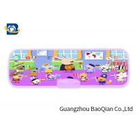 China Peppa Pig 3D Picture 3D Lenticular Printing Service Plastic Pencil Box For Kids on sale