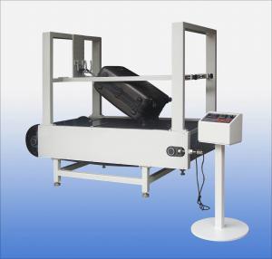 Conveyor Belt Type Luggage Testing Equipment / Machine Abrasion Tester Manufactures
